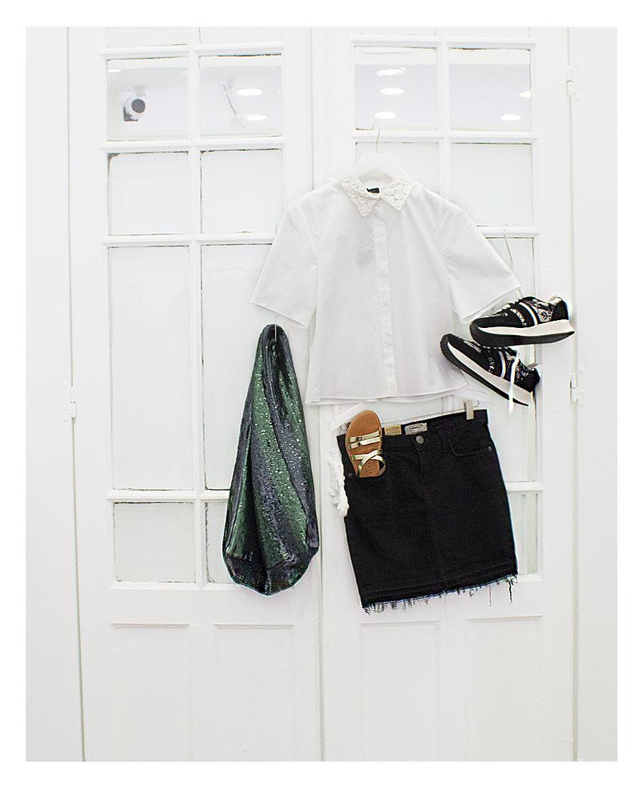 Los outfit de Arropame... Amarás tu falda y tu camisa de manga corta 3