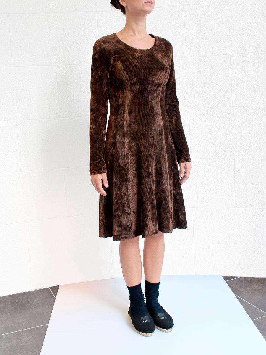 Irie Wash vestido marron look O/I2015