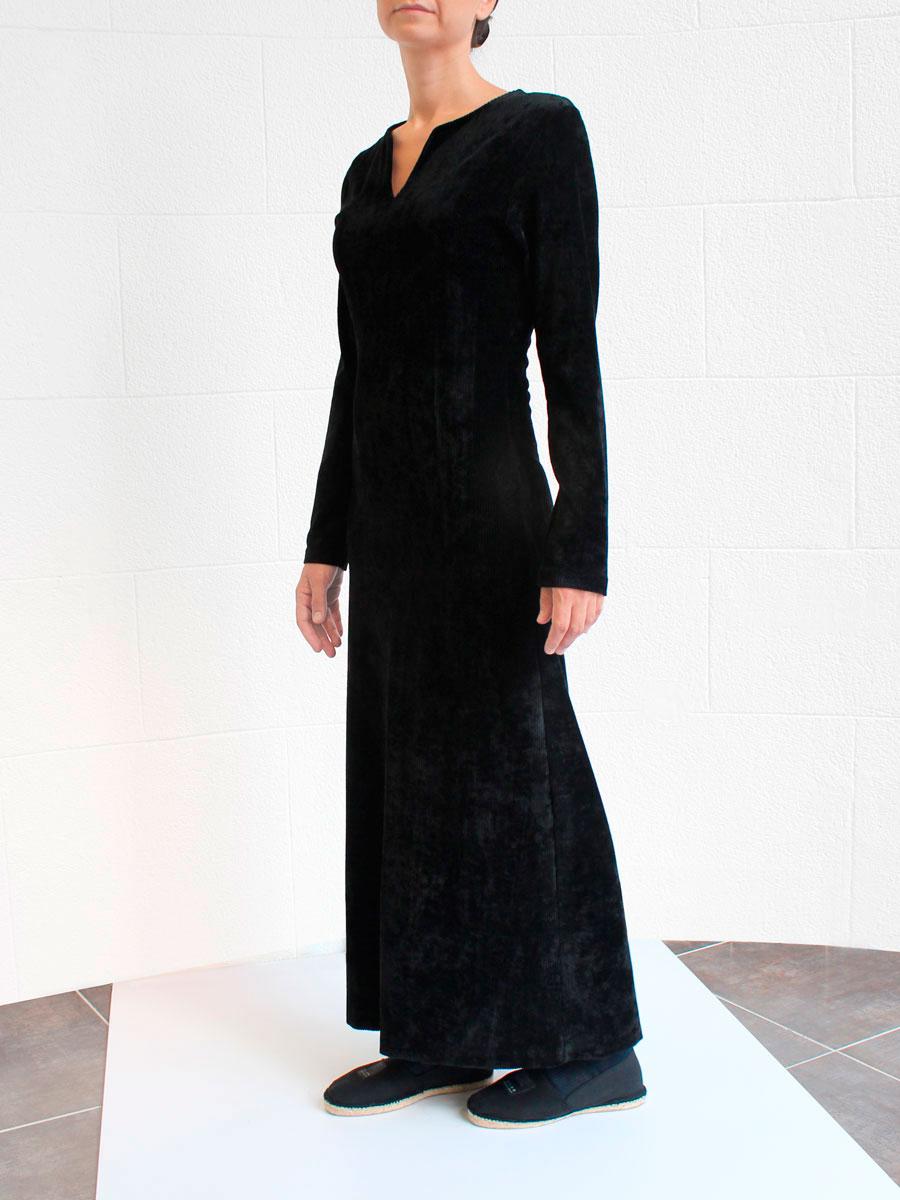 Vestido largo negro Irie Wash O/I2015 look