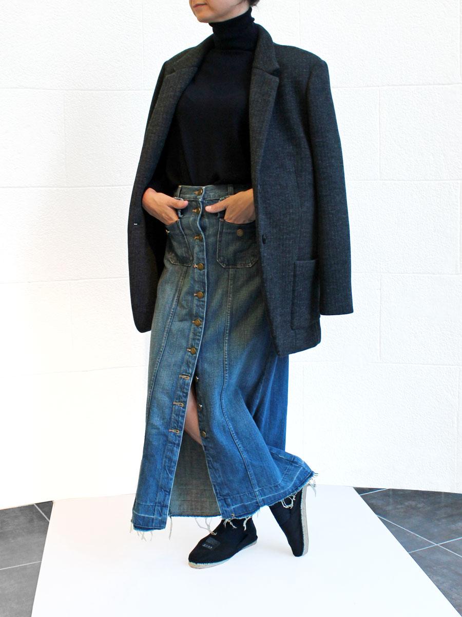 Falda larga y Irie Wash chaqueta