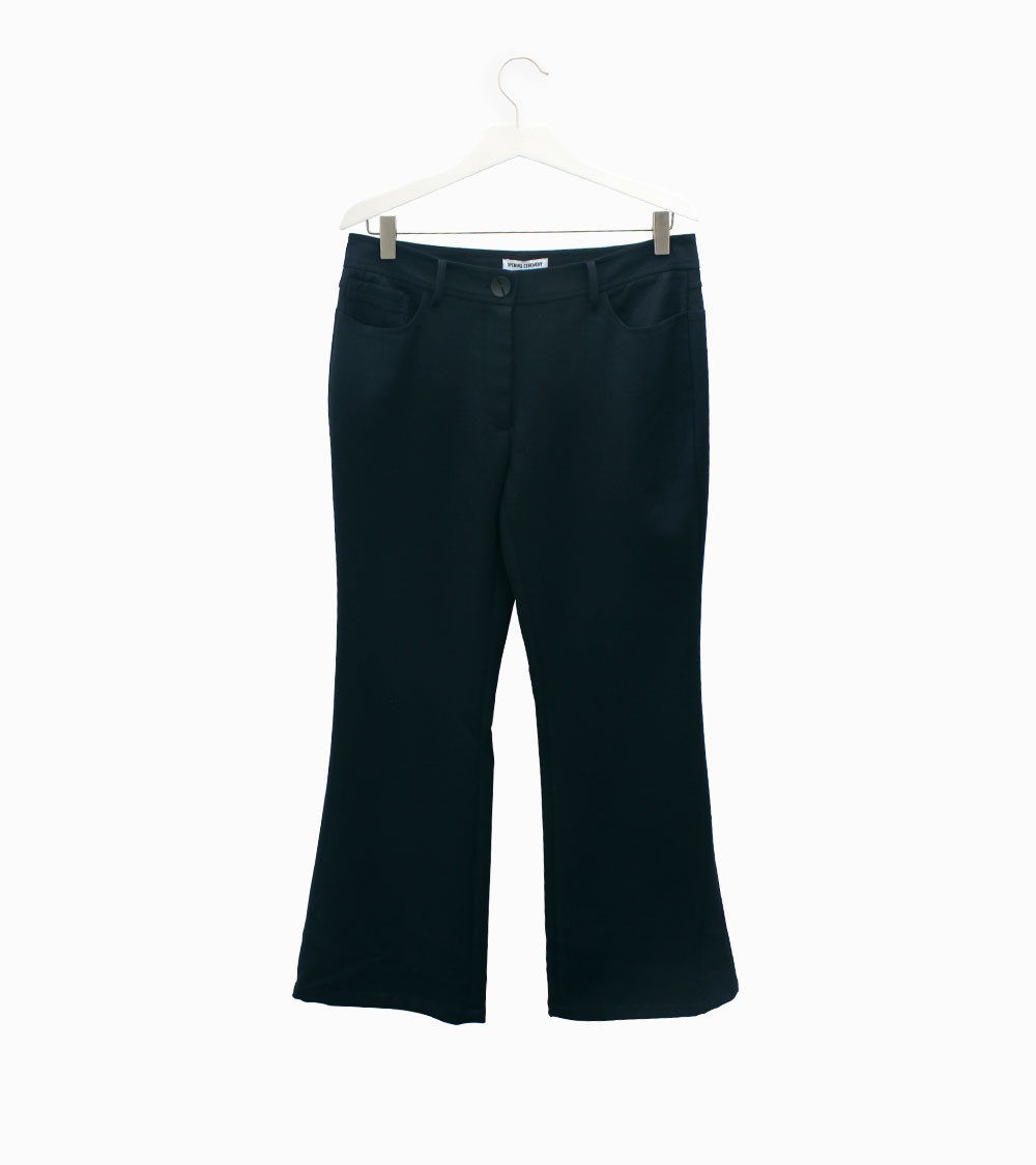 Opening Ceremony Navy flared trousers at Arropame Bilbao